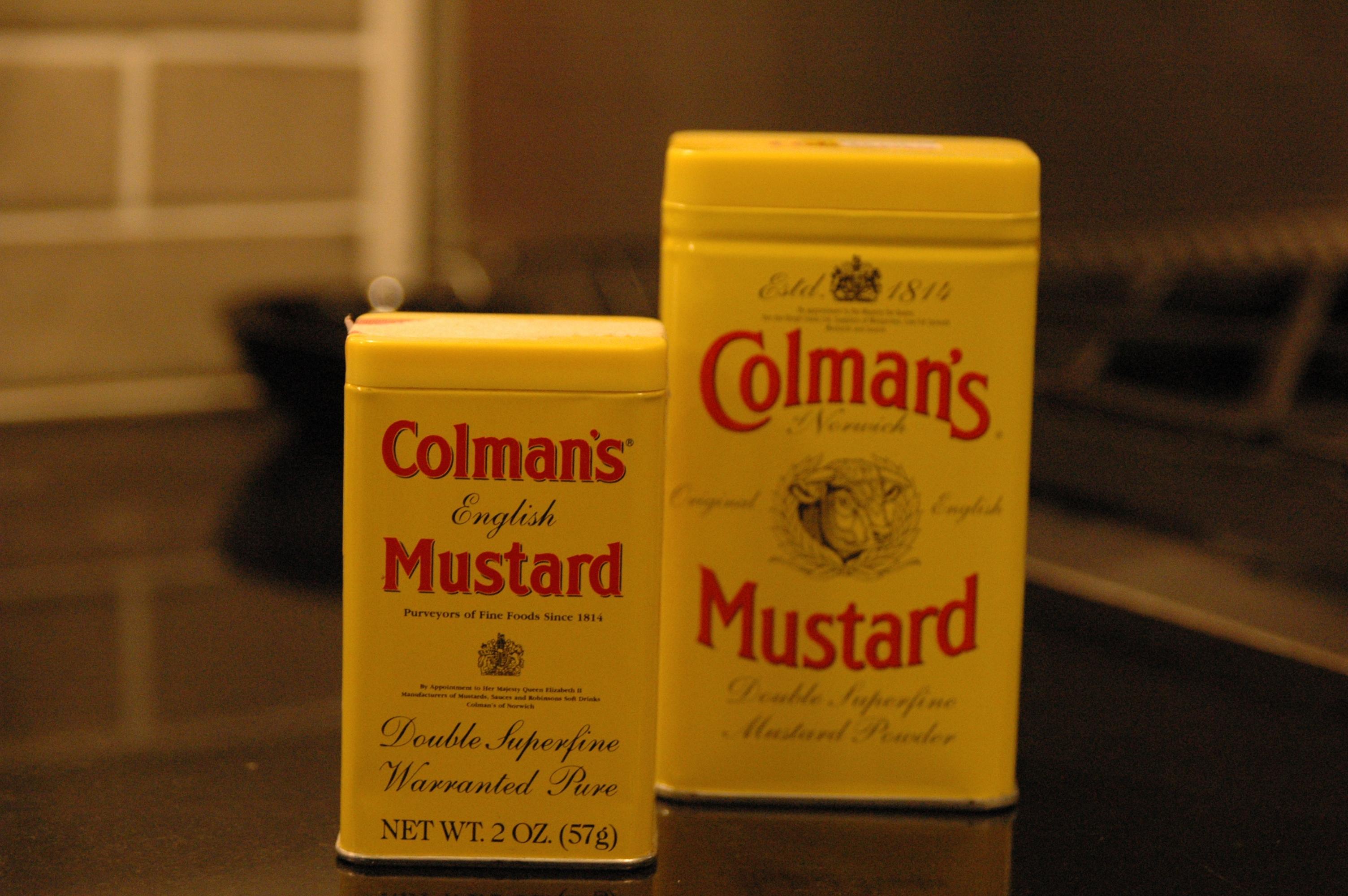 Coleman dry mustard