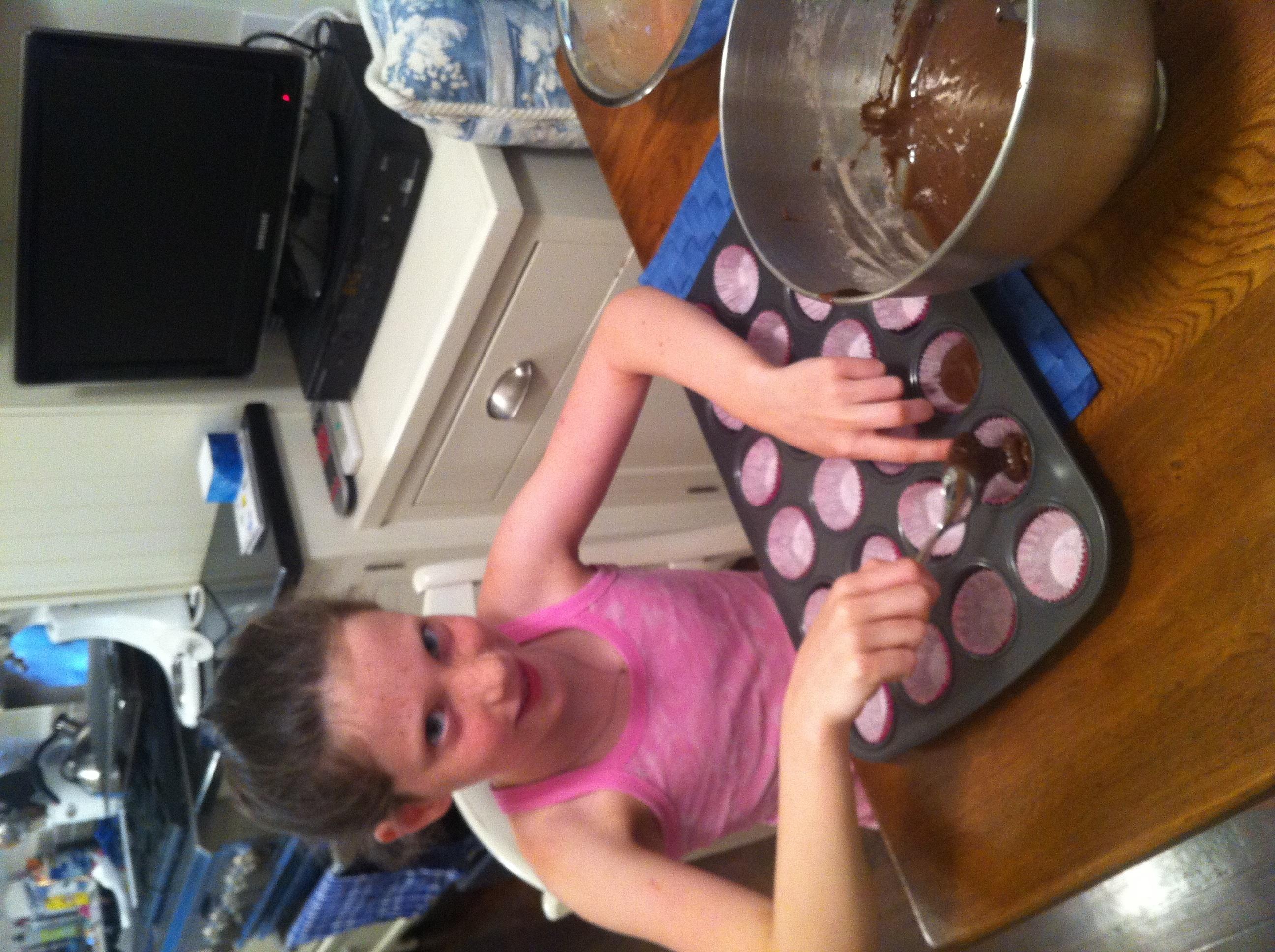 Judy's Black Bottom Cupcakes: far from rock bottom
