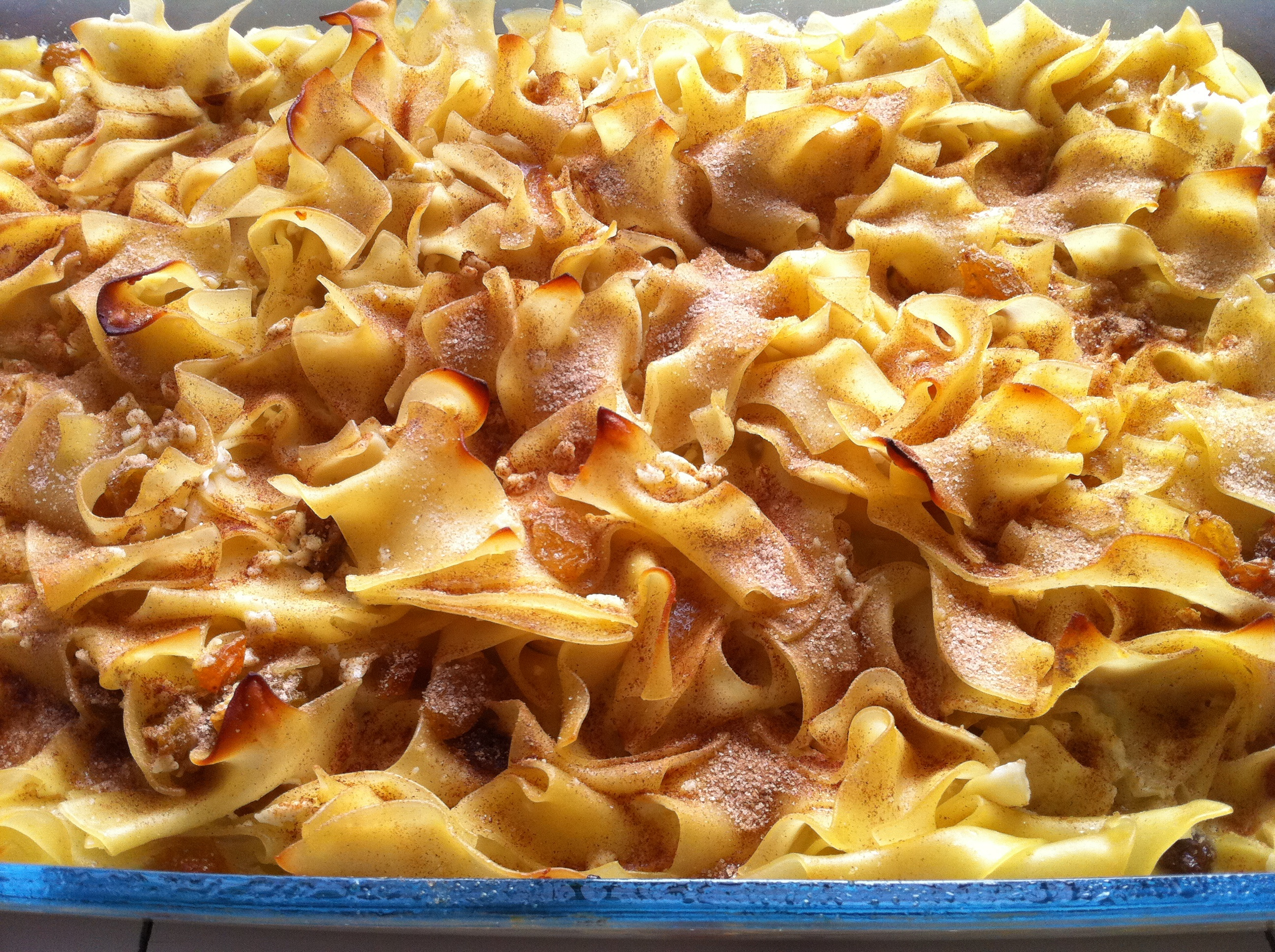 Noodle Kugel for the Holidays - My Judy the Foodie