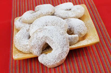 Christmas Viennese Crescent Cookies My Judy The Foodie