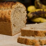 Banana Honey Bran Bread