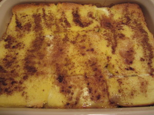 Oven-Baked French Toast