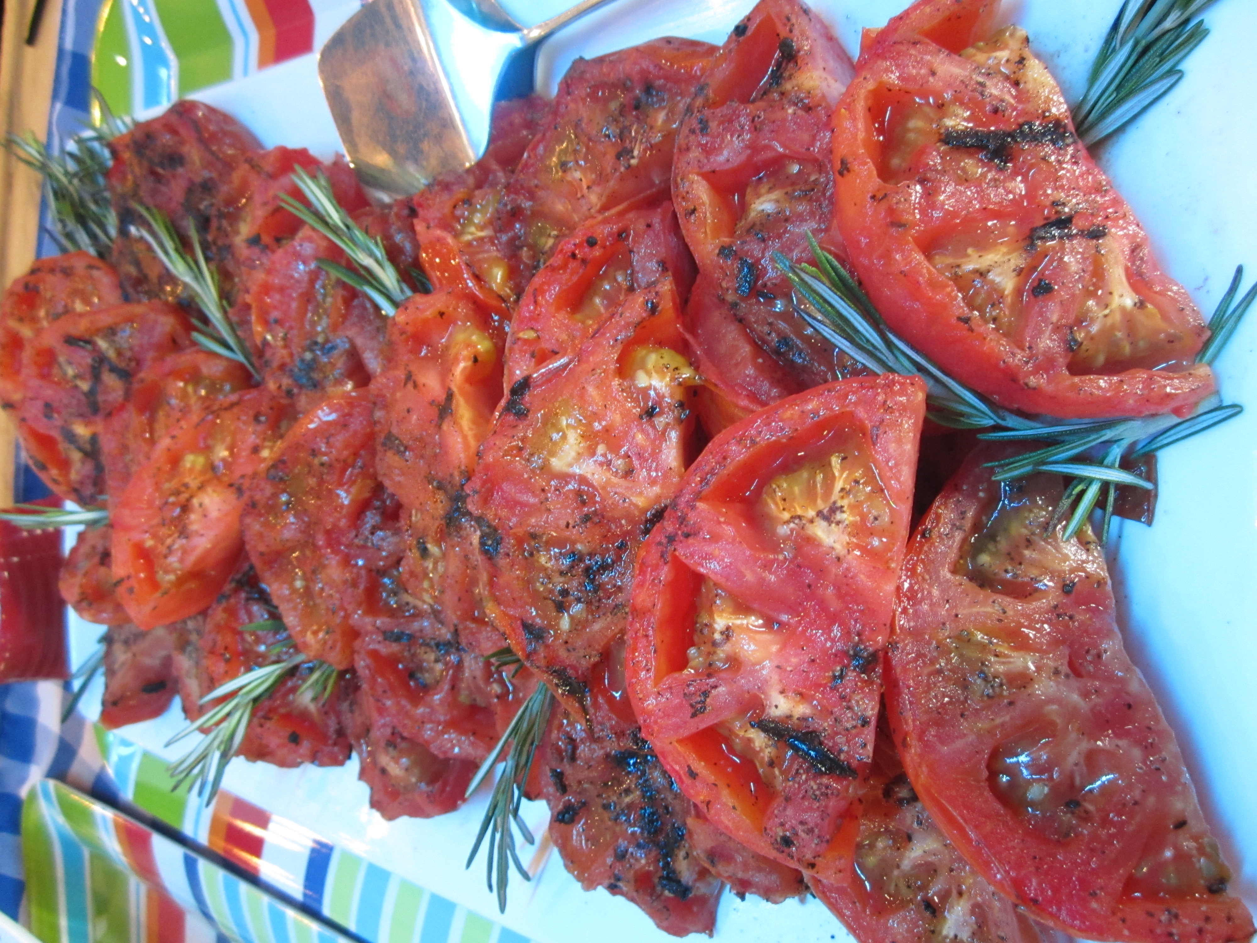 Grilled Beefstake Tomatoes