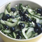 Blueberry Cucumber Feta Salad