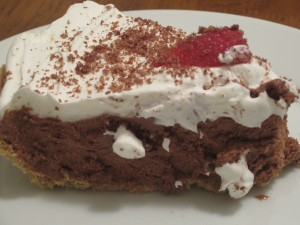 No Bake Chocolate Pie w/ COOL WHIP