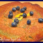 Banana, Blueberry, Yogurt Bundt Cake