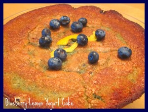 Secret Recipe Club: Bluberry Lemon Yogurt Cake