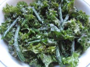 Kale and Green Bean Salad