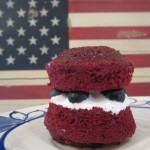 Red, White and Blueberry Mini-Whoopie Pies
