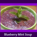Blueberry Mint Soup