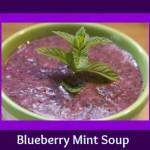 Seriously Soupy: Blueberry Mint Soup