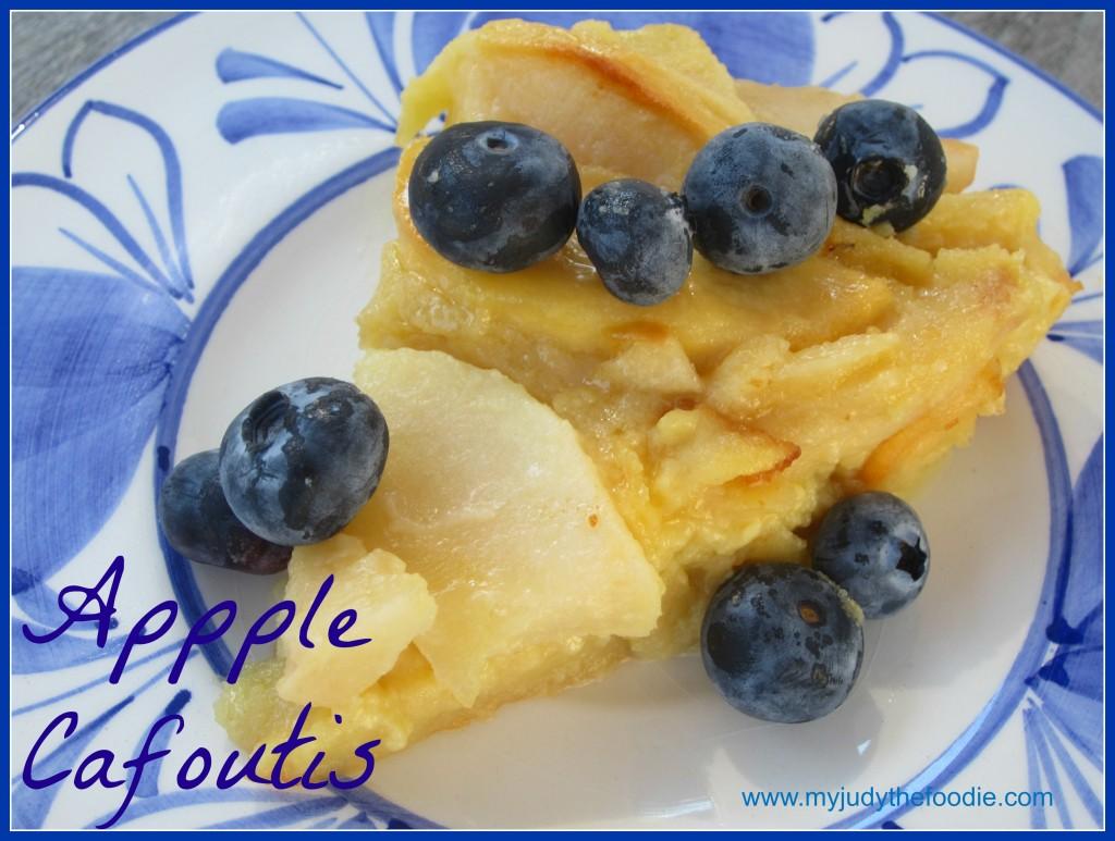 apple cafoutis