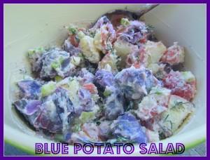 Blue Potato Salad