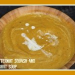 Seriously Soupy: Butternut Squash and Carrot Soup