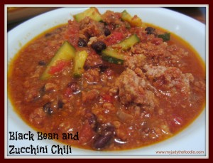 Slow Cooked Black Bean Beef Chili