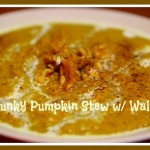 Pumpkin Stew with Walnuts