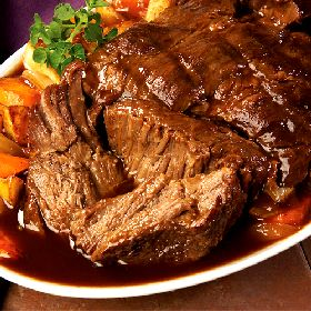 Thanksgiving Pot Roast - My Judy the Foodie