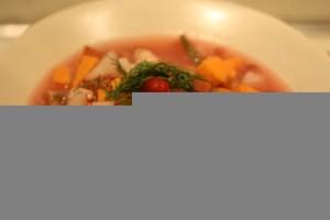 Cranberry Turkey Soup