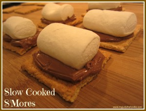 Slow Cooked S'Mores