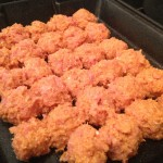 Spicy Buffalo Chicken Meatballs