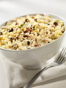 Quinoa and Grape Salad with Toasted Almonds