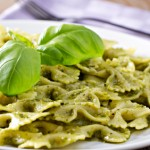 Pesto, Pasta, Peas and a Video