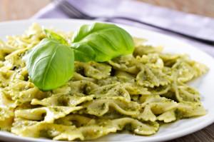 Pesto, Pasta, Peas and a Video