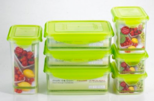 Kinetic Go Green 14 Piece Food Storage Container Set & Book Giveaway