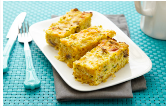 cheesy veggie quinoa bake