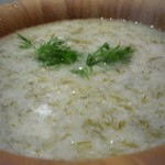 Seriously Soupy – Chilled Cucumber Soup w/Dill