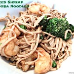 Sauteéd Shrimp and Soba Noodles
