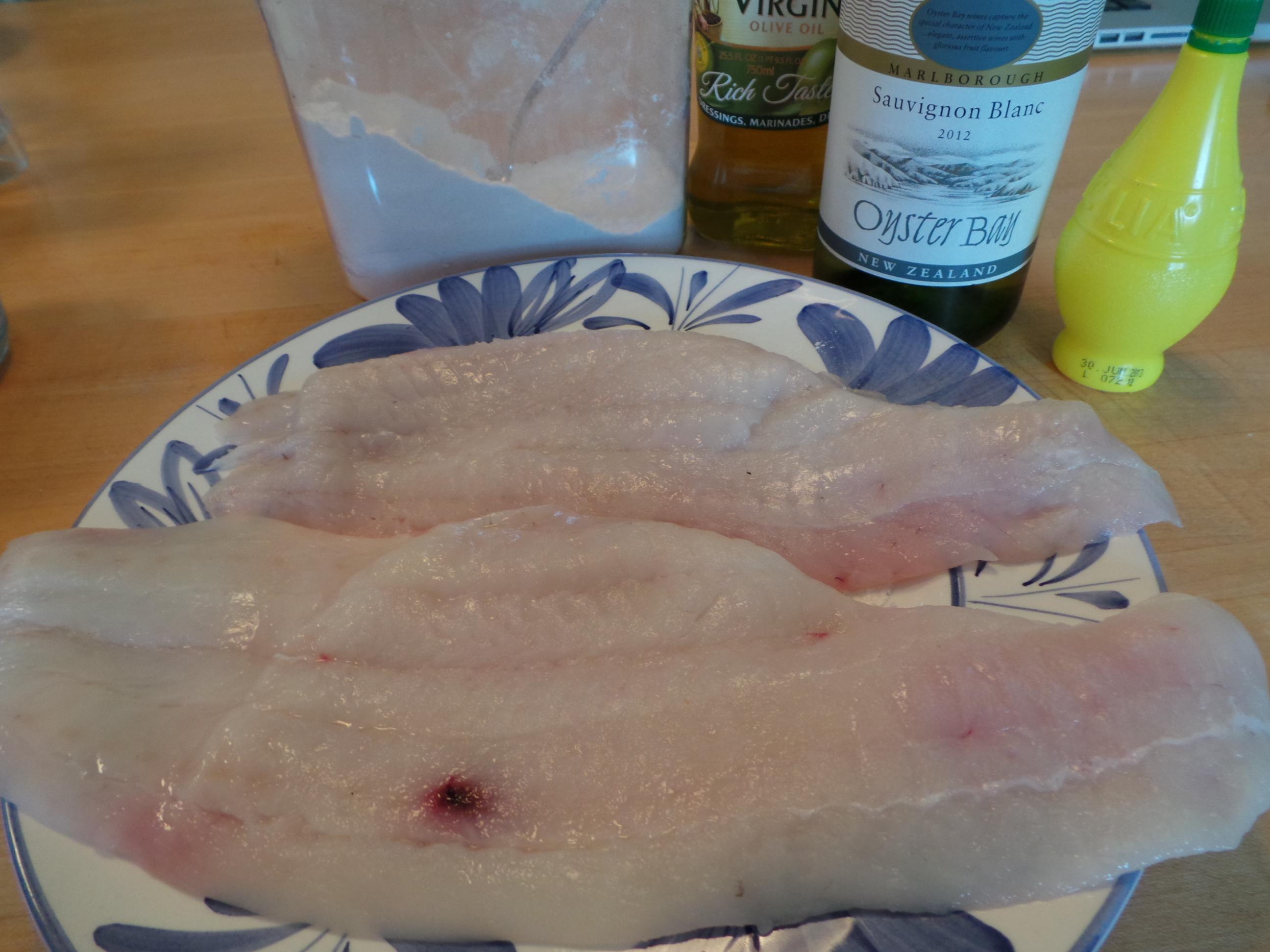 flounder raw