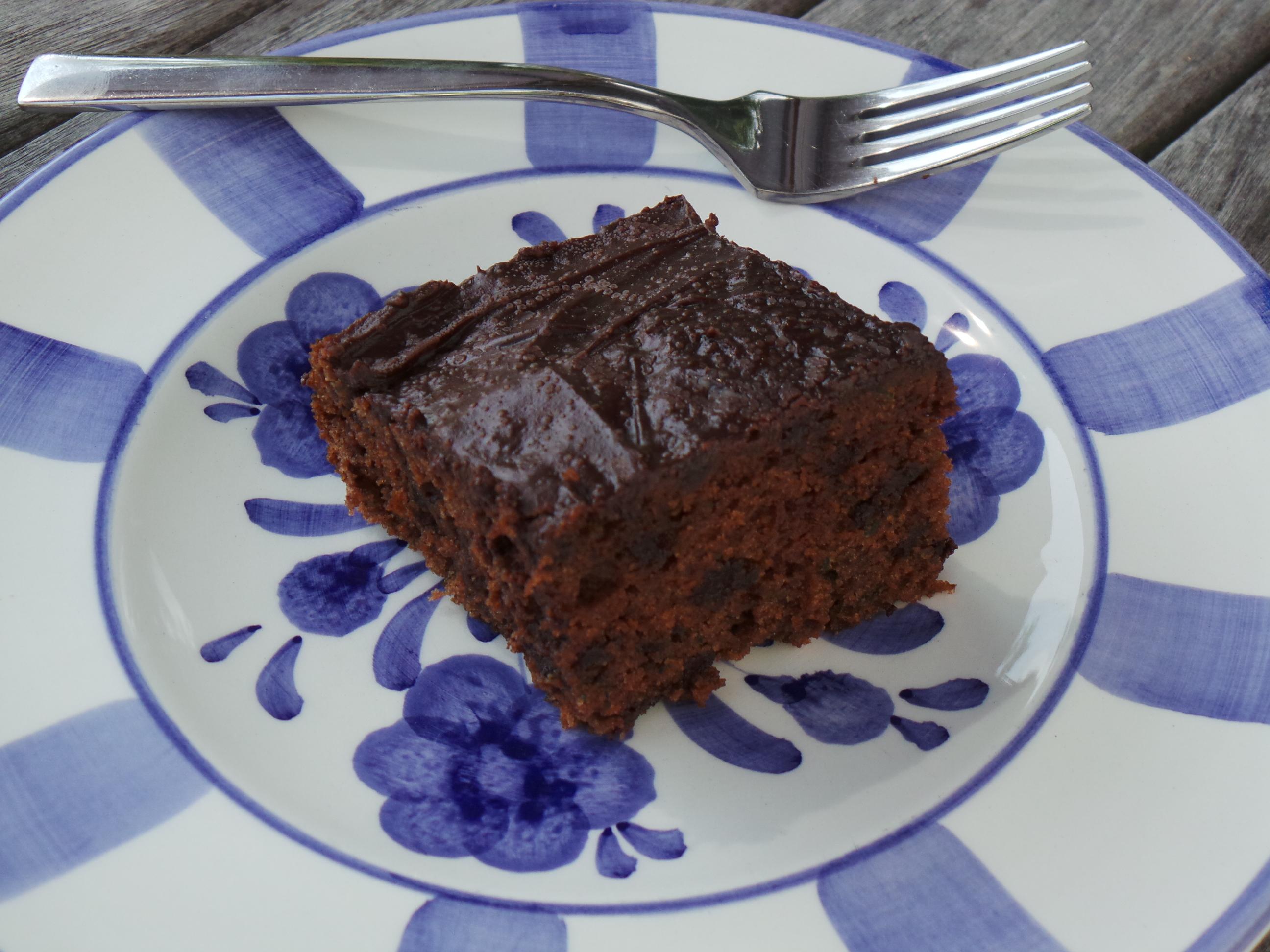 zucchini-chocolate cake