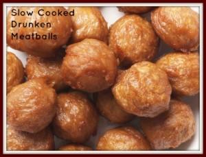 Slow Cooked Drunken Meatballs