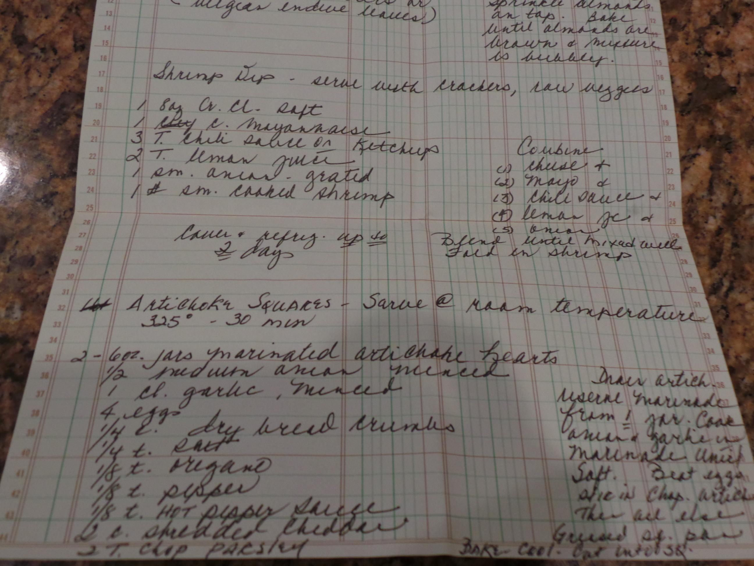 artichoke recipe
