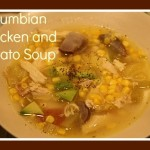 Columbian Chicken and Potato Soup