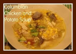 Columbian Chicken and Potato Soup