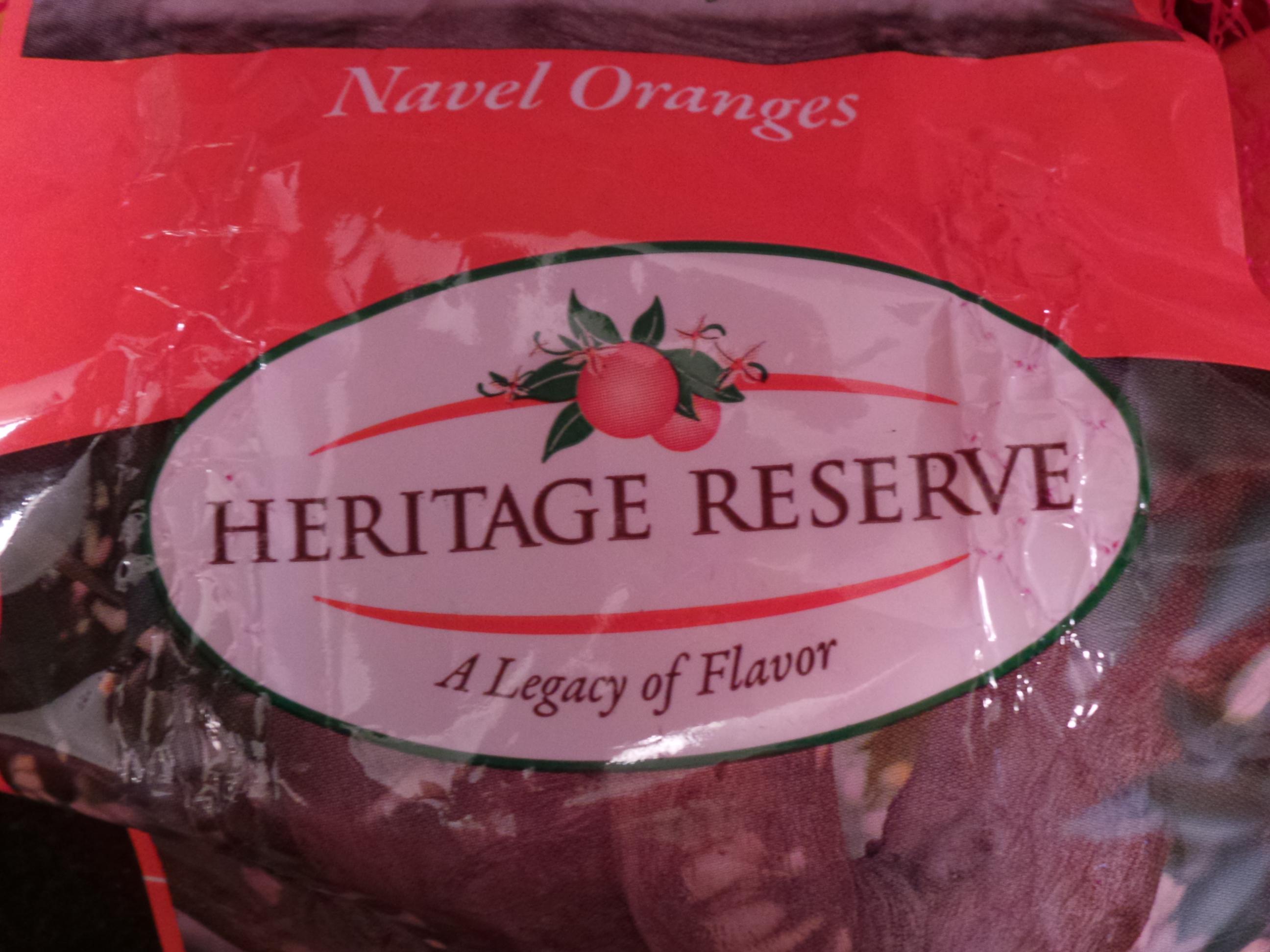 heritage reserve