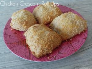 Savory Chicken Crescent Roll Ups
