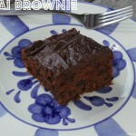 Chai Brownies