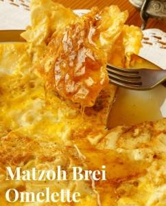 Matzoh Brei (Omelette)
