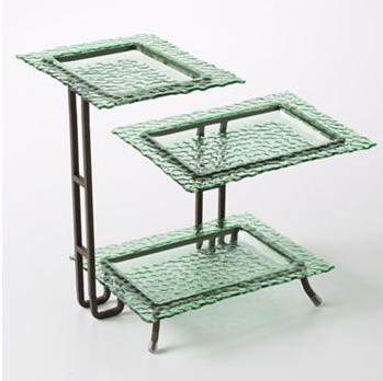 3-tier serving rack