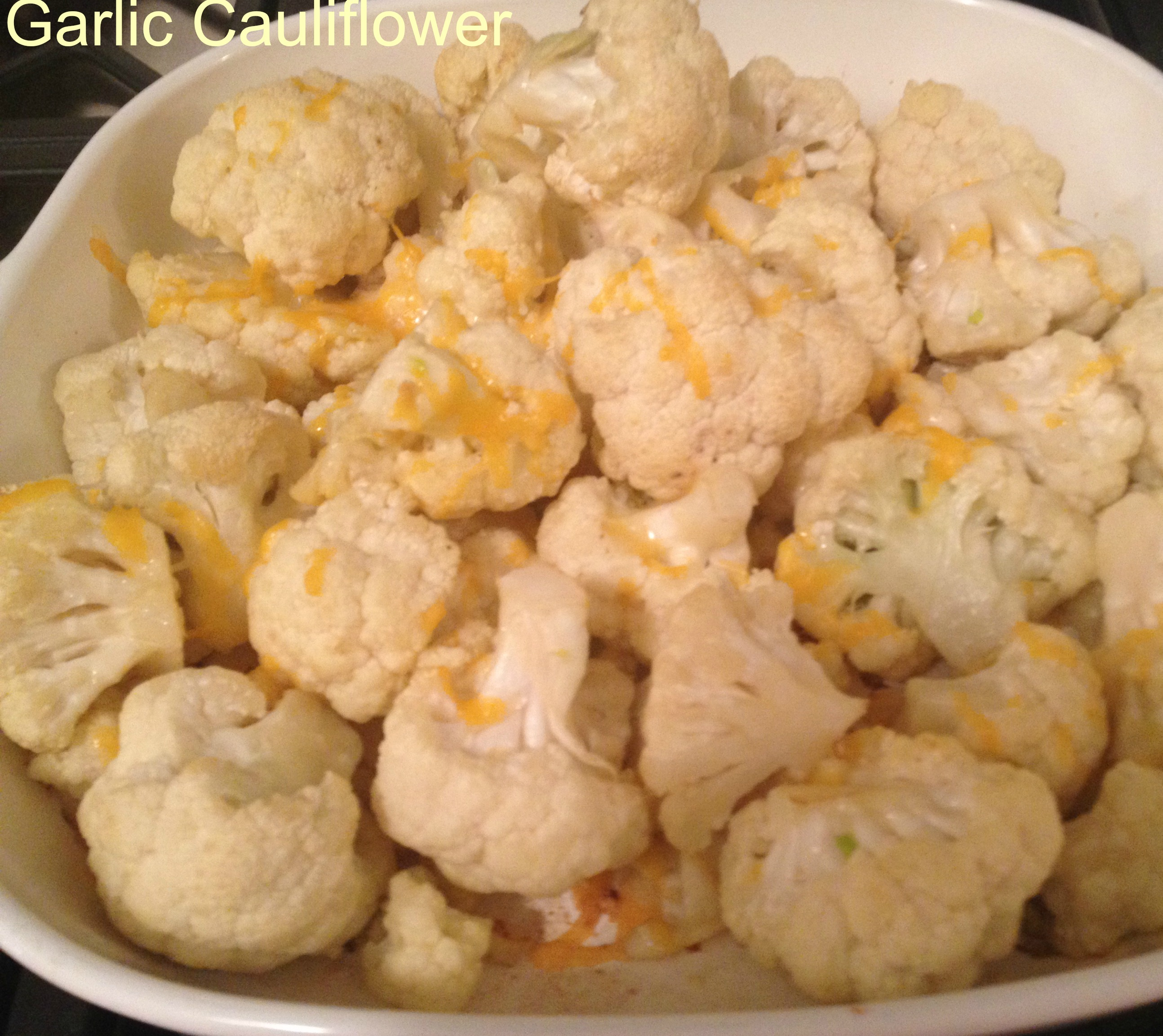 garlic cauliflower