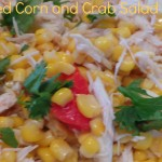 Chilled Corn and Crab Meat Salad