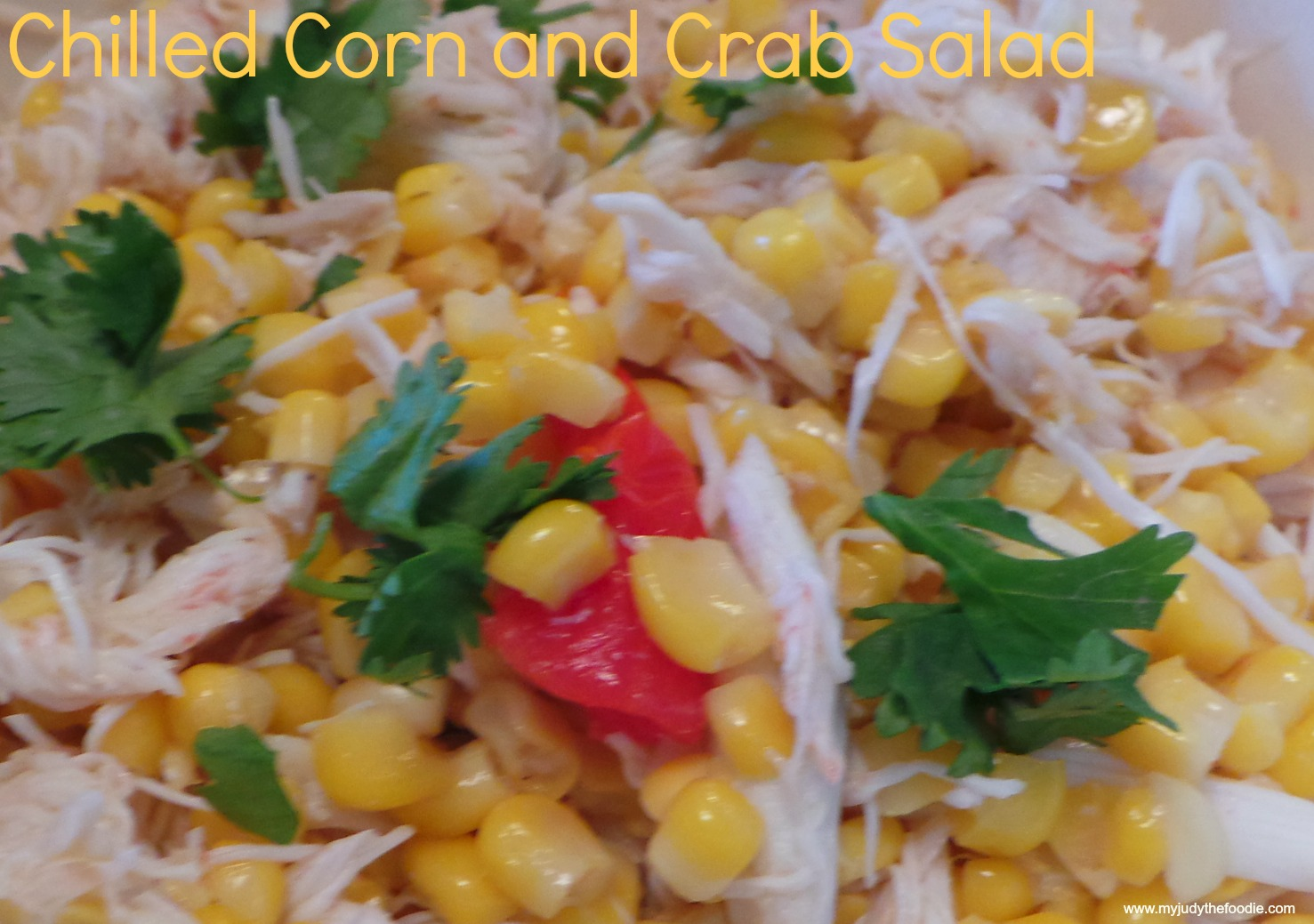 Corn and Crab Salad