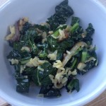 Kale Salad with Dates, Almonds & Citrus Dressing
