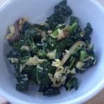 Kale Salad with Dates, Almonds & Citrus Dressing