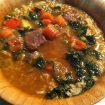 Beef, Kale and Vegetable Stew