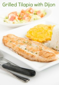 Grilled Tilapia with Dijon