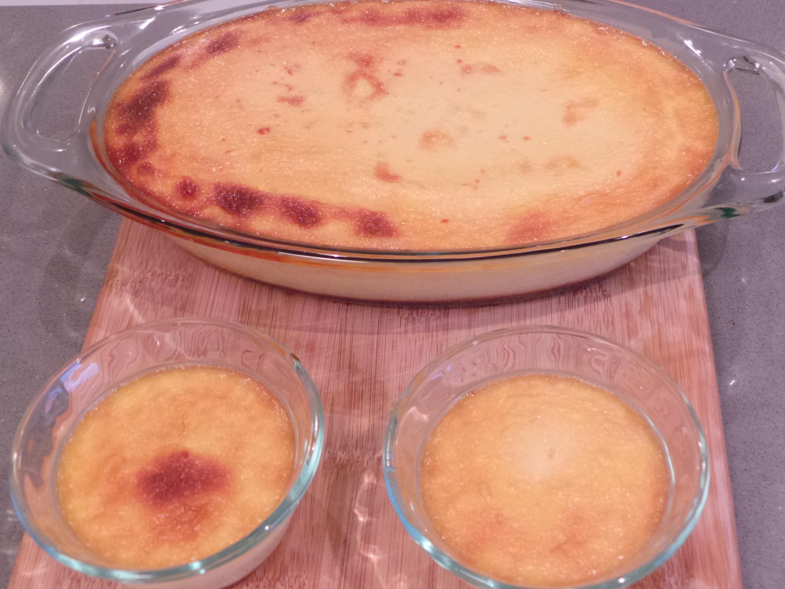 baked flan